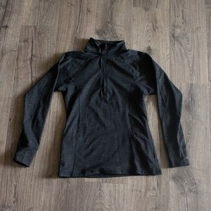 Albion Fit Uinta Half Zip black zipper pullover